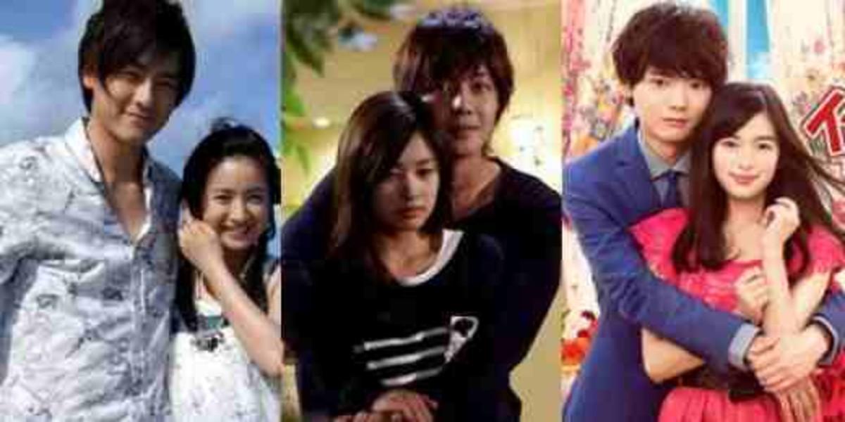 It Started With A Kiss (Joe Cheng and Ariel Lin); Playful Kiss (Kim Hyun-joong and Jung So-min); Itazura na Kiss: Love In Tokyo (Yuki Furukawa and Miki Honoka)