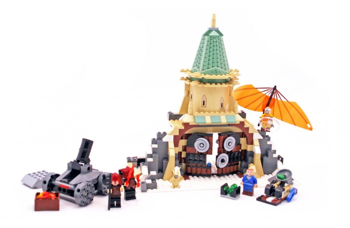 LEGO Avatar: The Last Airbender Air Temple 3828 Assembled
