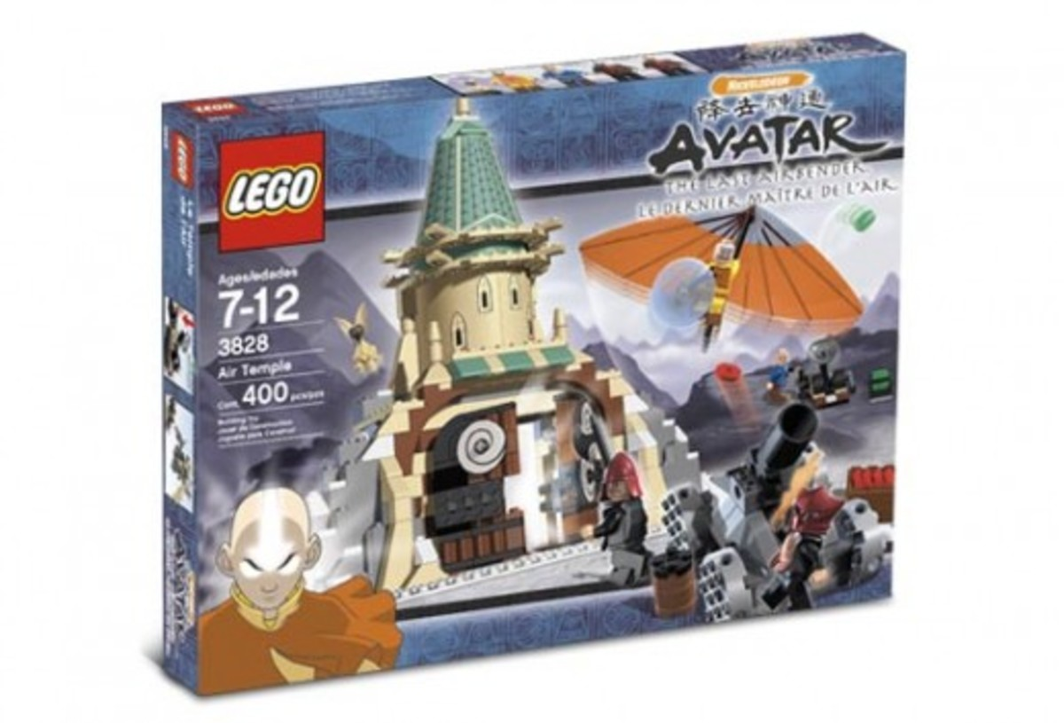 LEGO Avatar: The Last Airbender Air Temple 3828 Box
