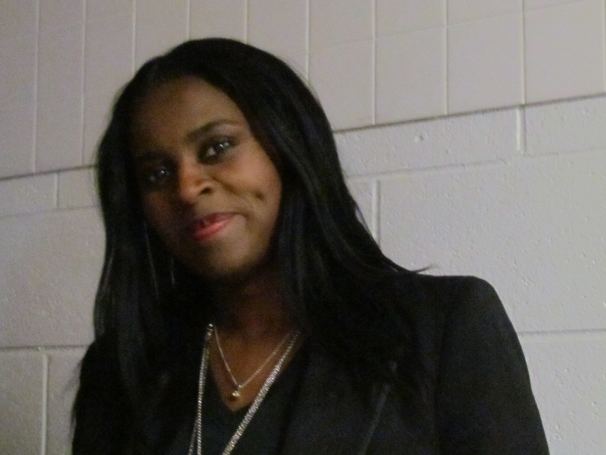 Michelle Garrison, is assistant to Valencia Phamphile of the Mad Team.