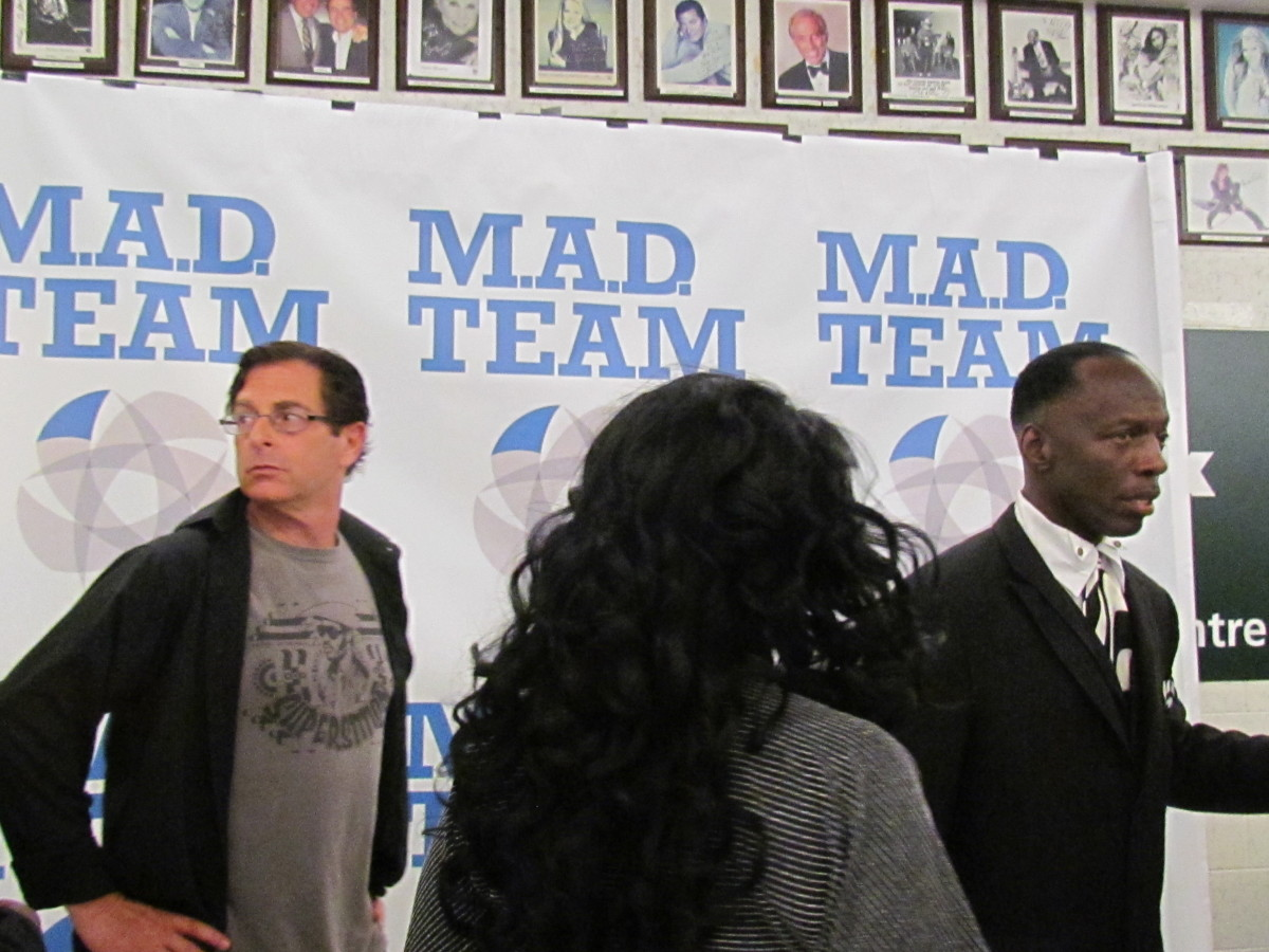 Rick Coley, promoter of this event works along with members of Mad Team worked together to organize this event.