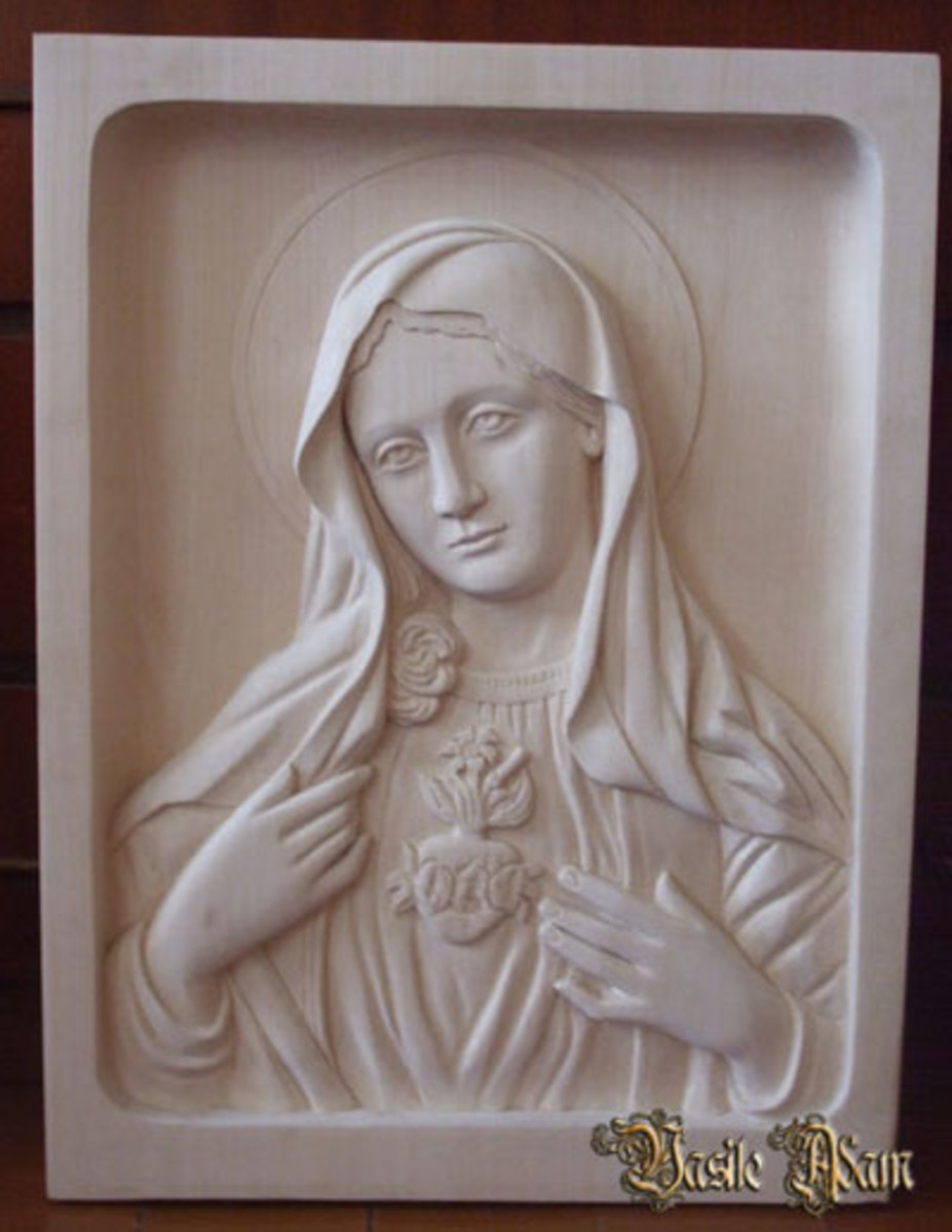 Mary Mother of Jesus by Sosos of Pergamon