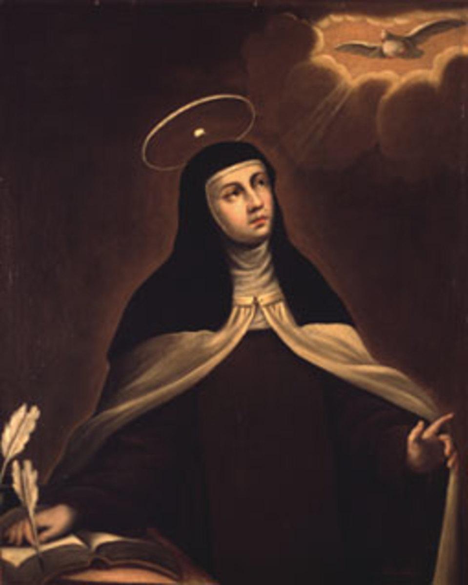 Santa Teresa by Alonso del Arco (1635 - 1704)