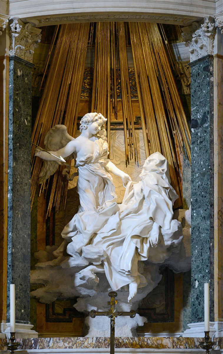 Sculpture by 	Gian Lorenzo Bernini, 1847 - 52
