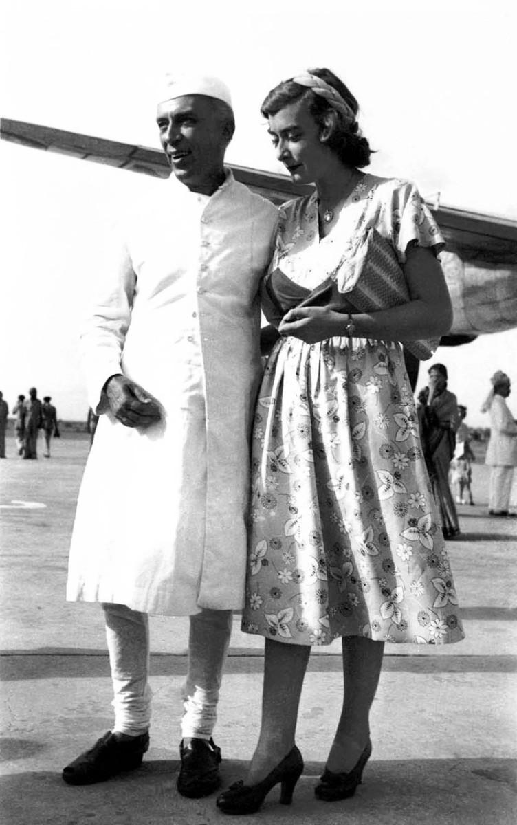 Nehru with Lady Pamela Mountbatton