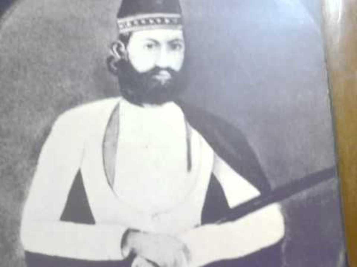 Painting Nehru Grandfather