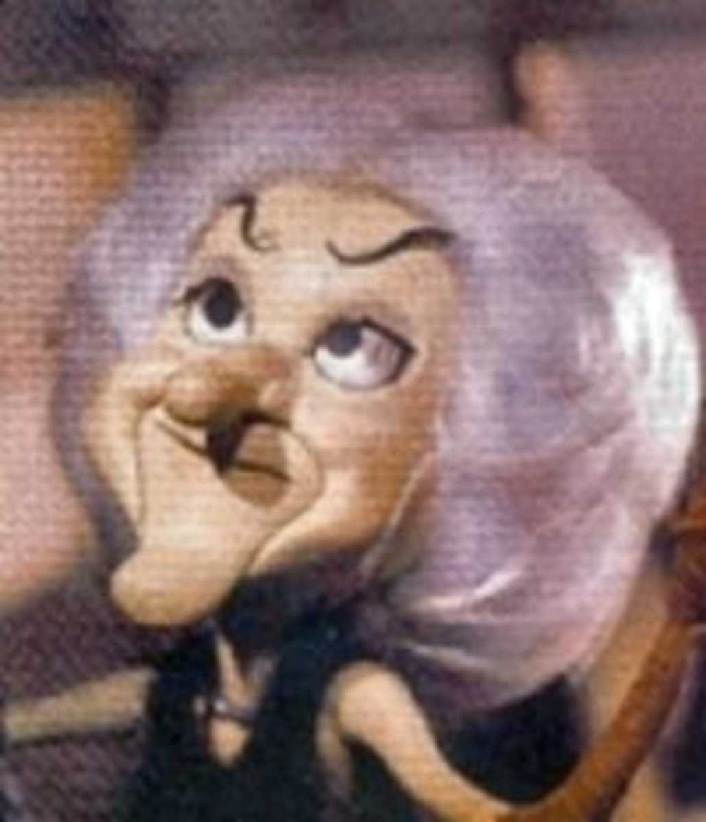 Phyllis Diller played a cartoon version of herself in  the form of the Monster's Mate.