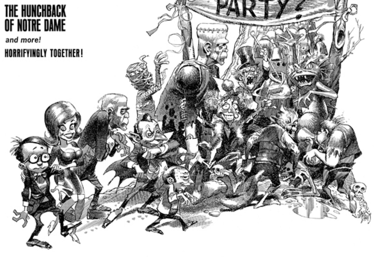 Designs for the film were done by Mad Magazine artist Jack Davis