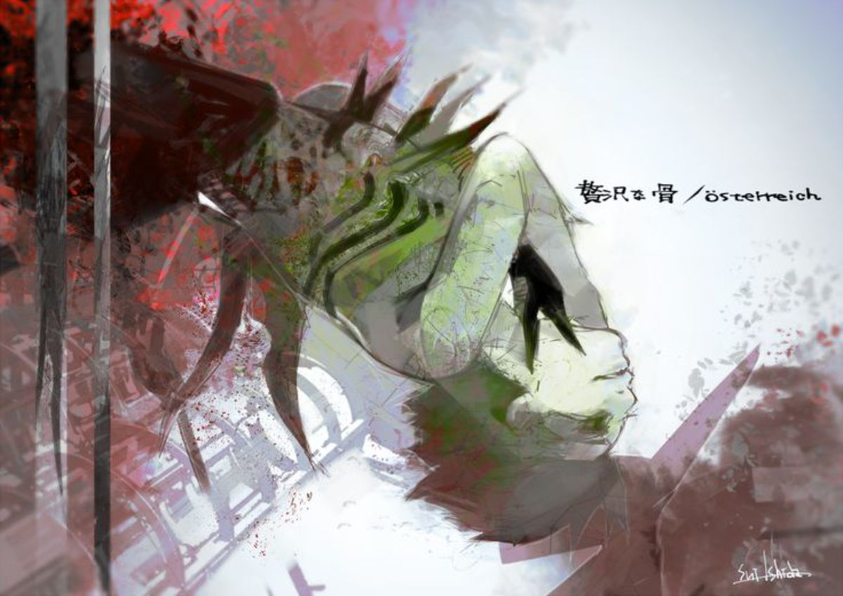 Ishida Sui's recent drawing of Kaneki.