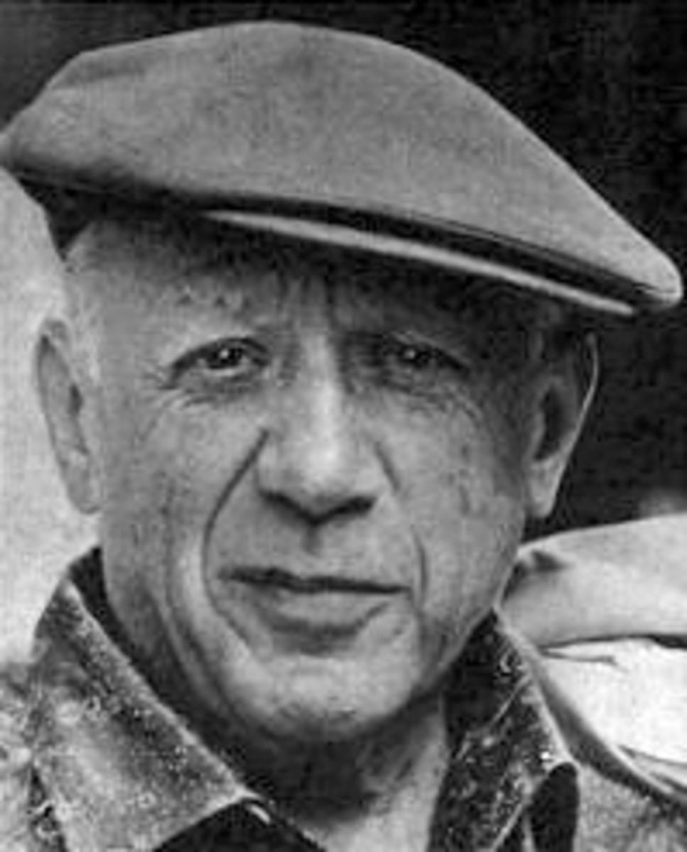 The artist Pablo Picasso, taken in 1962.