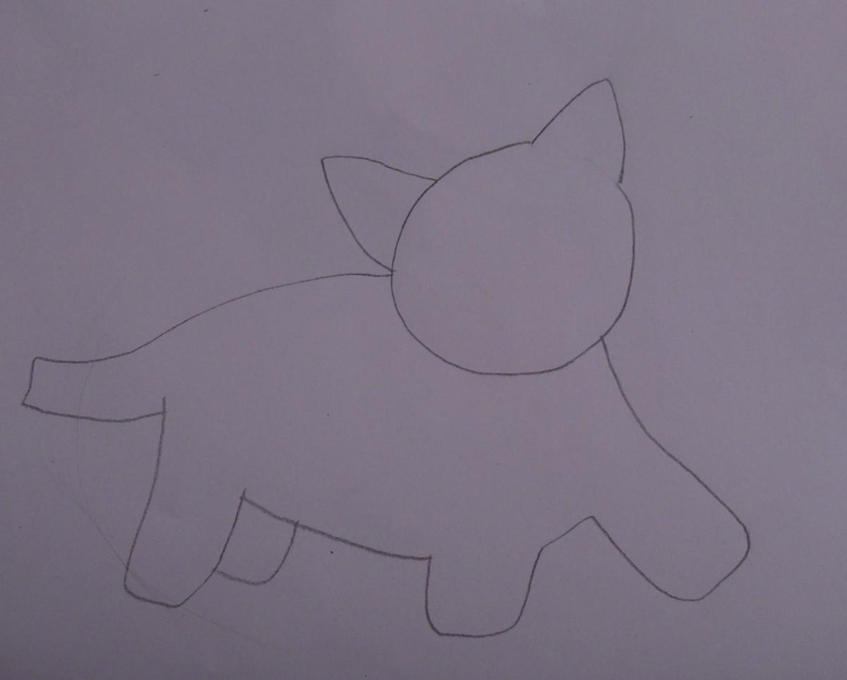 Step 2 - Draw your chosen animal.