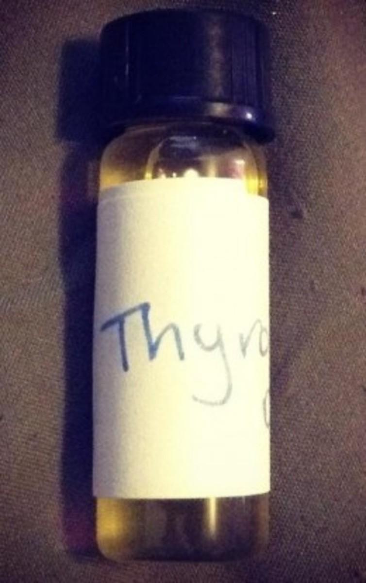My thyroid essential oil blend