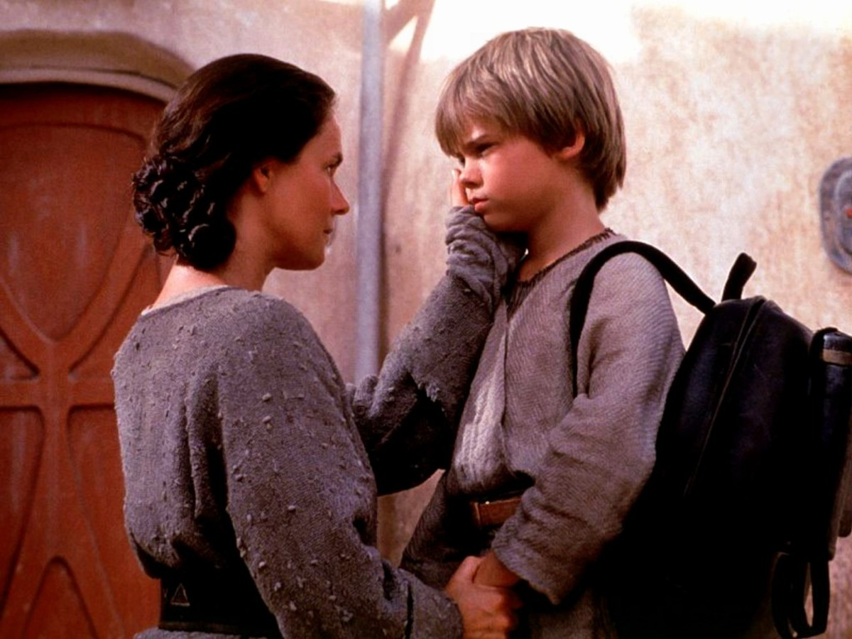 One of the relationships I enjoyed in this movie!  Too bad the fandom ruined Jake Lloyd in real life!