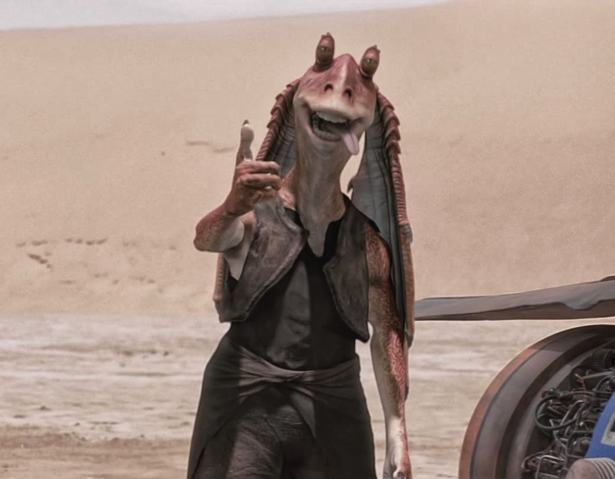 I give this movie a thumb's up as I laugh at all the fan dumb who drank WAY too much George Lucas Haterade!