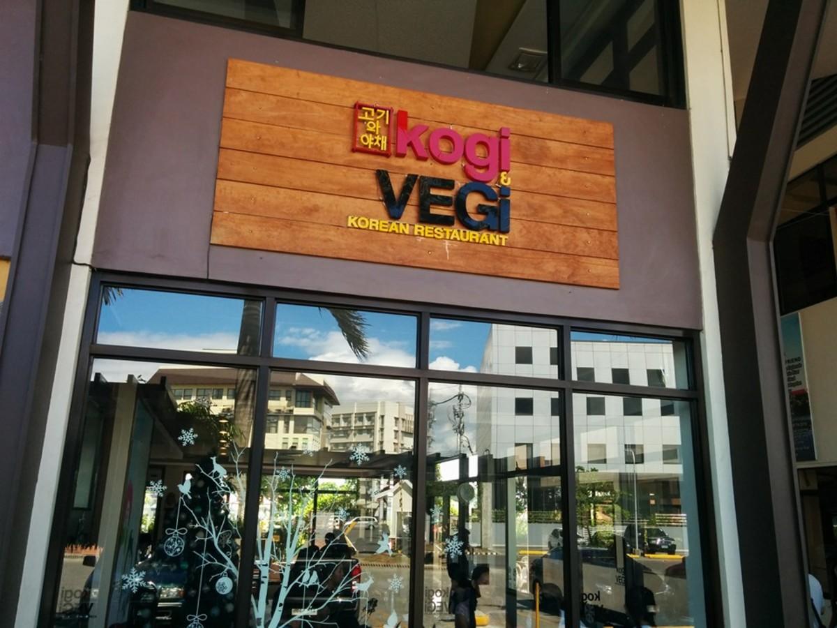 Review: Kogi & Vegi Korean Restaurant, Smallville, Iloilo City, Philippines