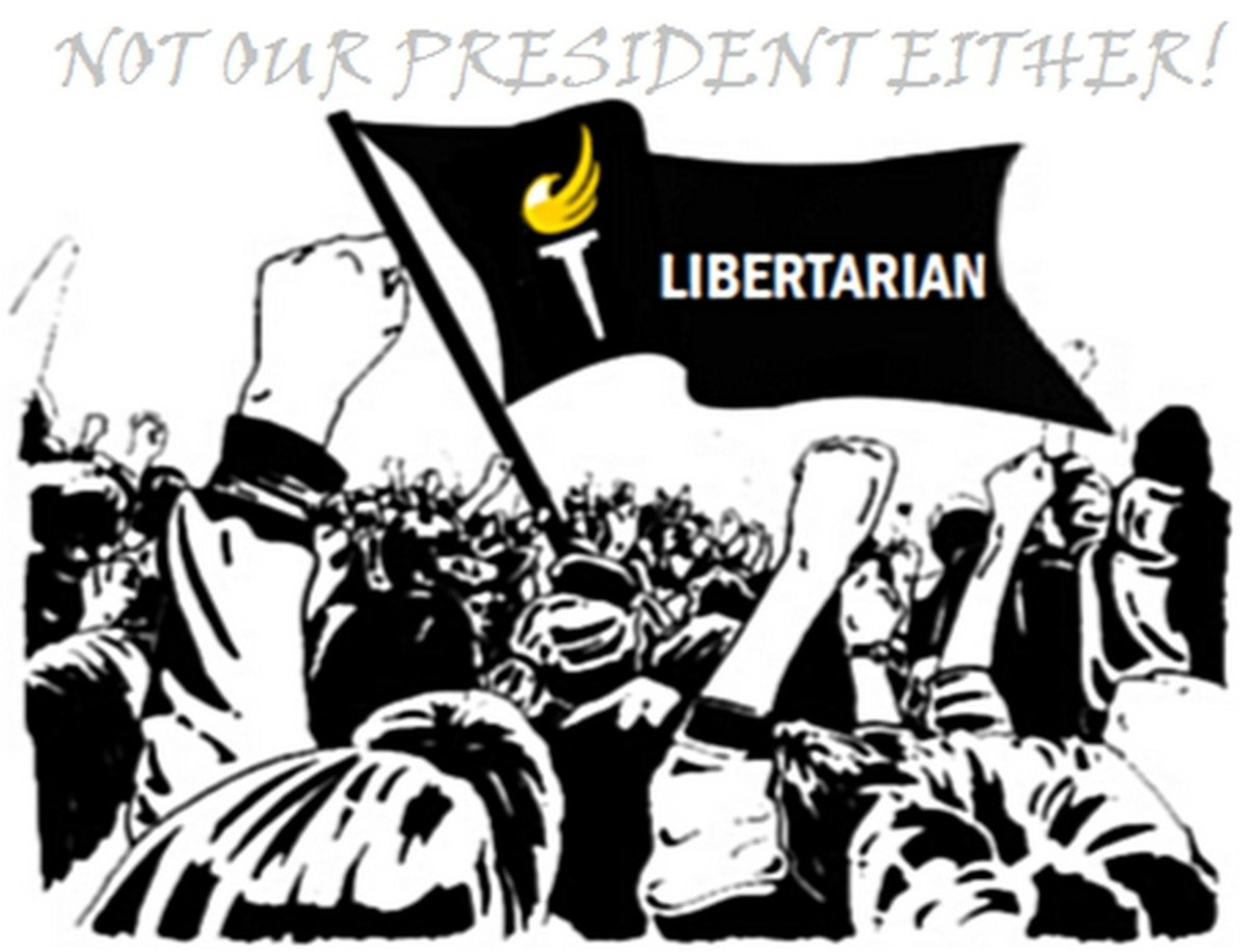 Libertarians don't want a Big Brother OR a Big Sister authoritarian President.