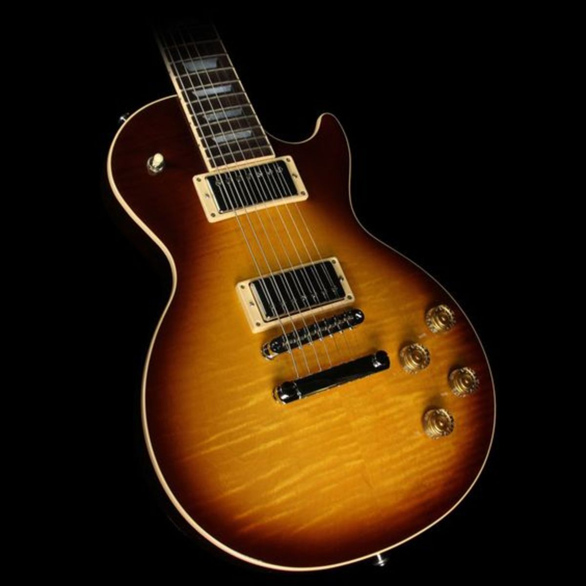 2016 Gibson Les Paul Standard 7-String Limited Edition Electric Guitar Tobacco Sunburst