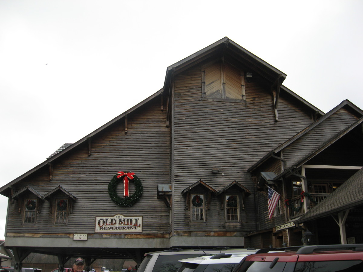 There are lots of wonderful restaurants in Pigeon Forge!