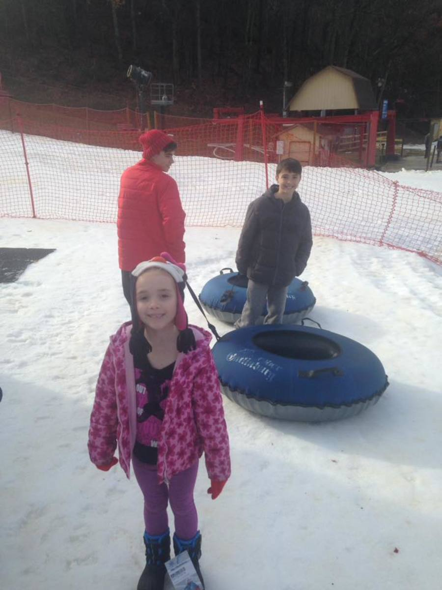 Snowtubing at Ober Gatlinburg