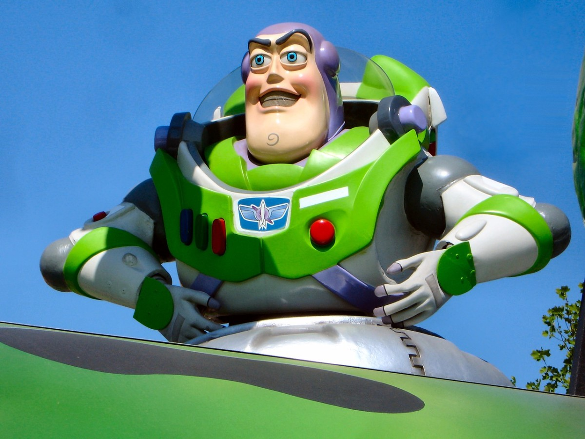 """Infinity and beyond!"" .. Buzz Lightyear"