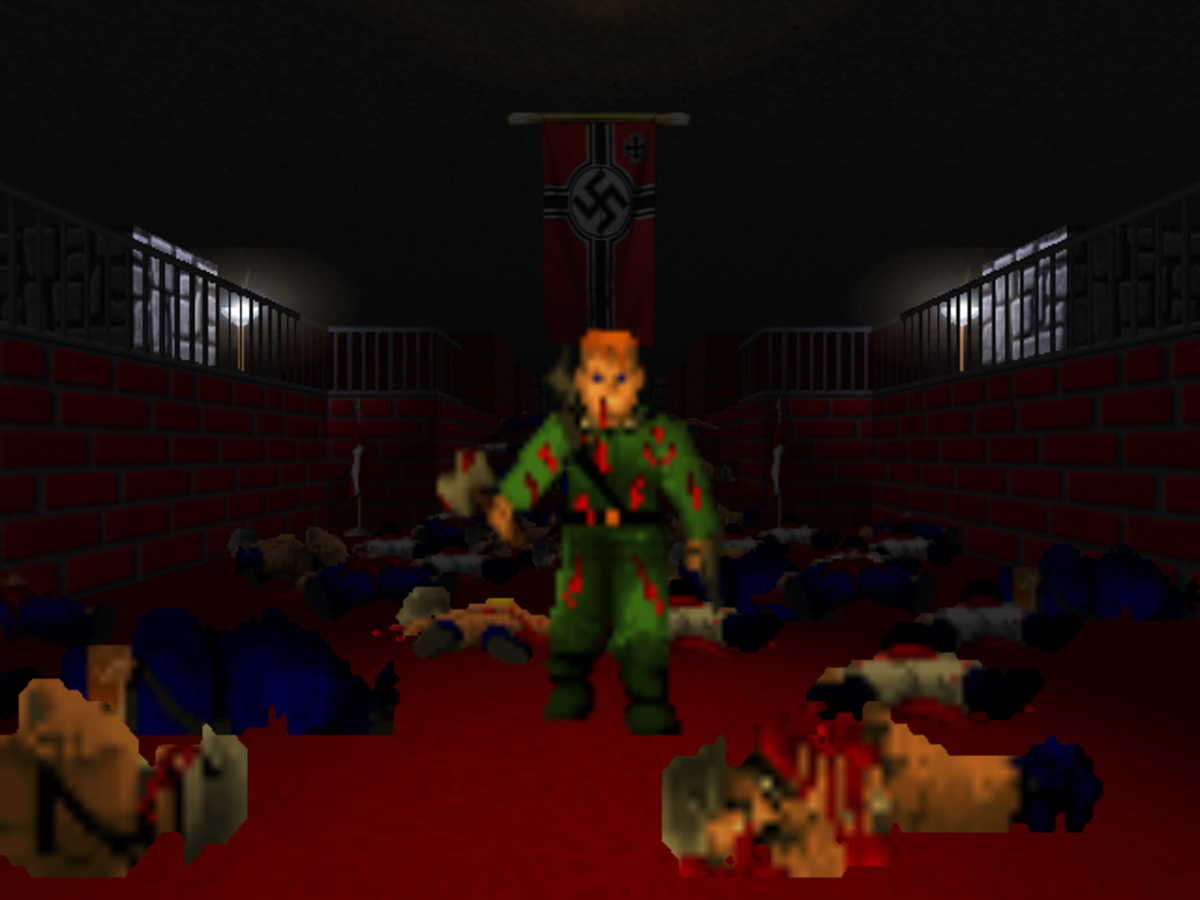 Review: Brutal Wolfenstein 3D
