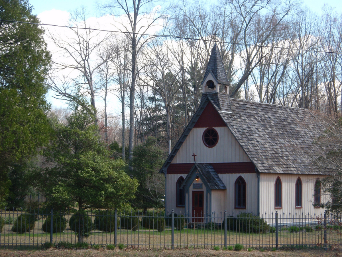 Christ Church Episcopal, Rugby, Tennessee