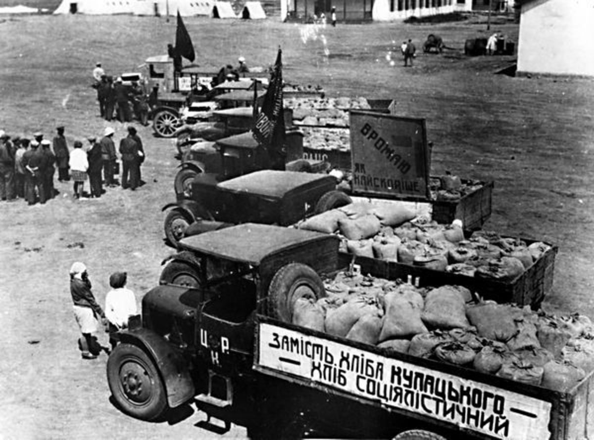 Ukrainian Farming during 1930s