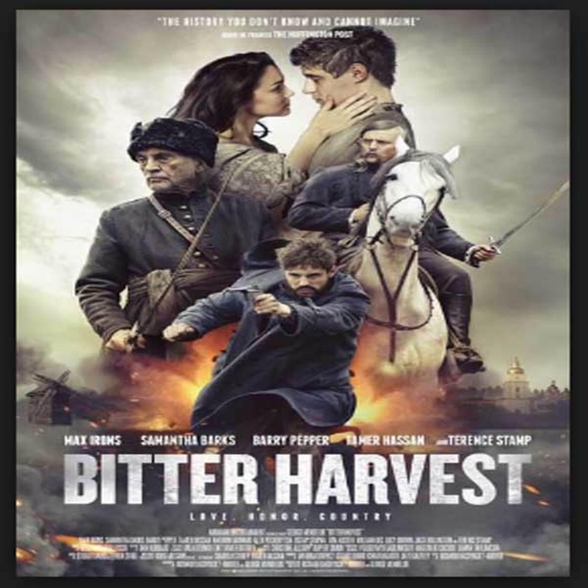 """Movie poster for """"Bitter Harvest"""""""