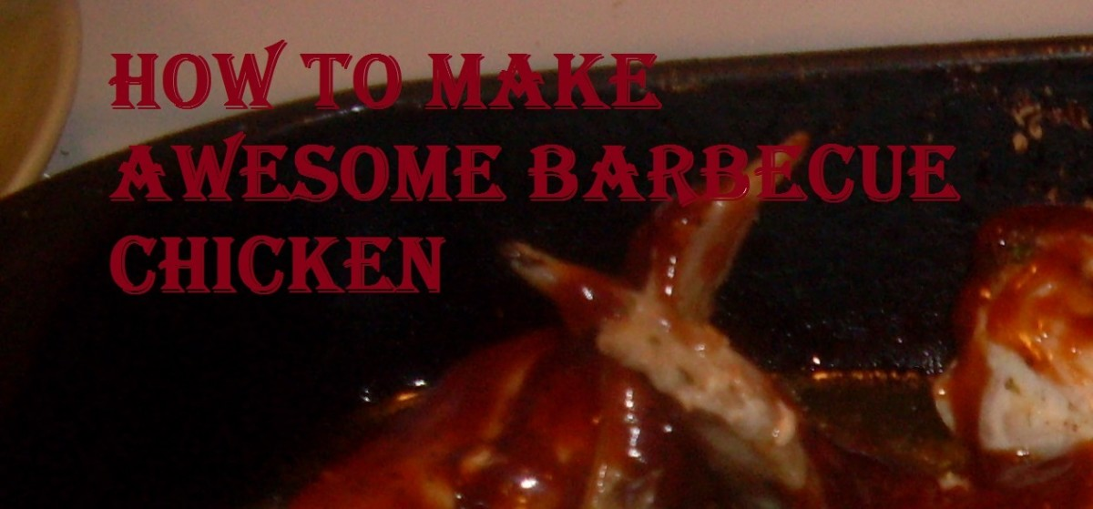 Recipe for How to Make Best Barbecue Chicken Wings, The Easy Way