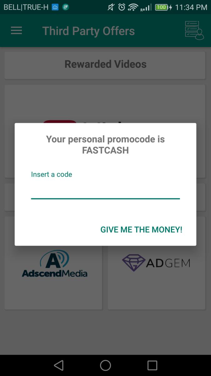 LifeSlide! promo code: FASTCASH