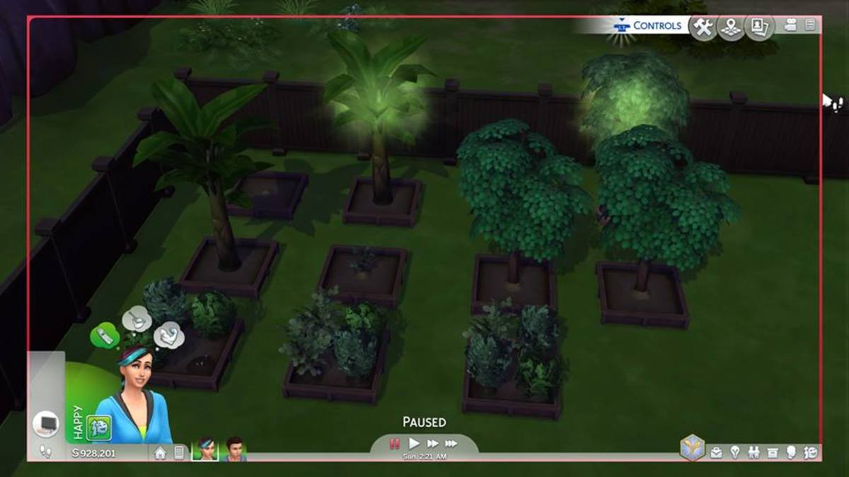 Sims 4 (PS4) How to Complete Gardening Collection