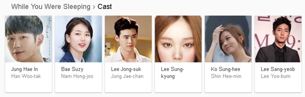 While You Were Sleeping Cast KDrama 2017