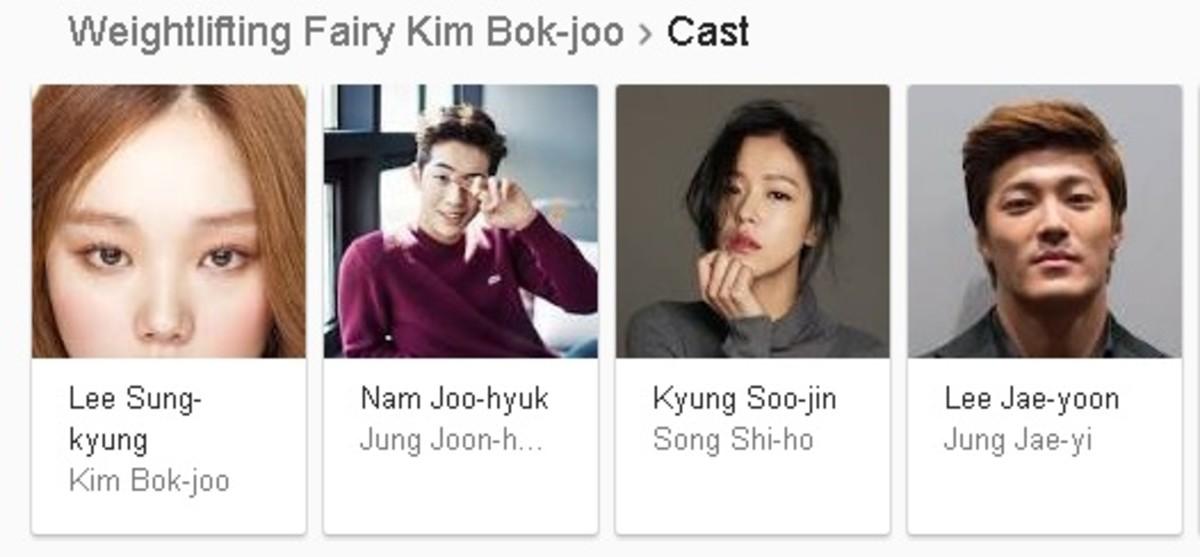 Weightlifting Fairy Kim Bok-joo Cast (KDrama)