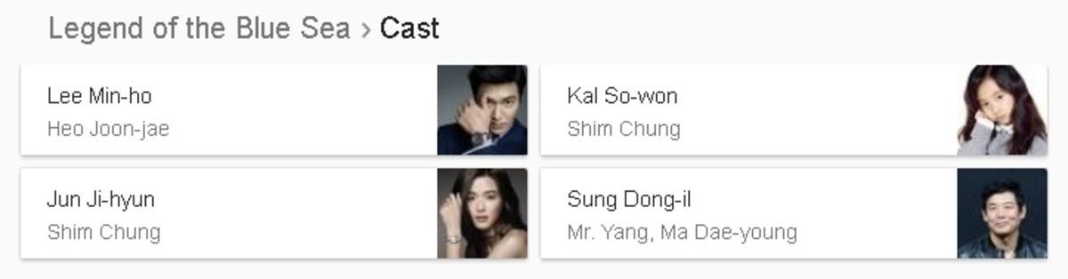 Legend of the Blue Sea Cast Korean Drama 2017
