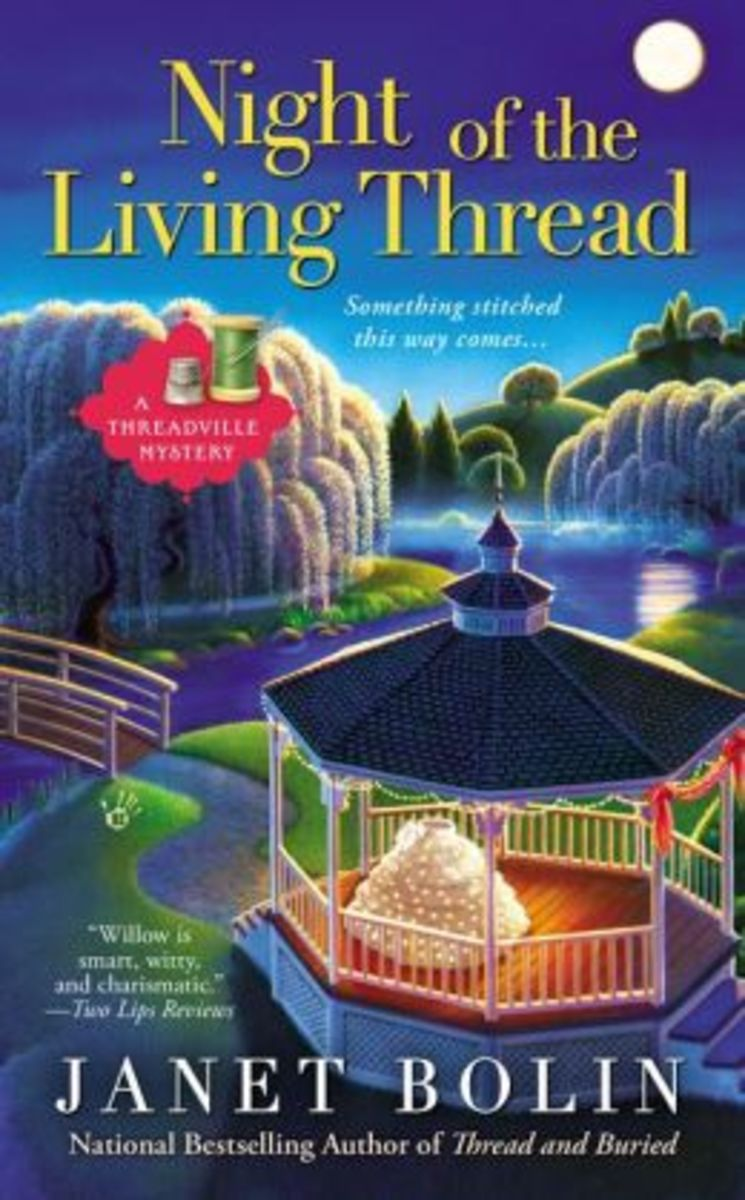 Book Review: Night of the Living Thread by Janet Bolin