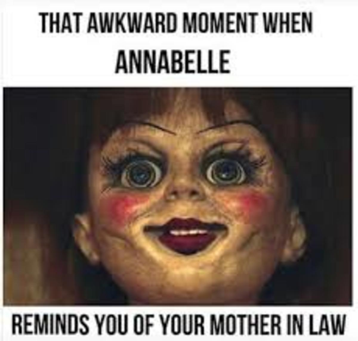 Annabelle: My Mother-In-Law's Long Lost Twin
