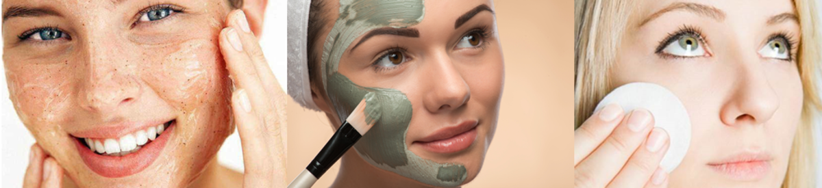 To remove silicone residue from pores 1) Exfoliate 2) Use a mask 3) Apply toner