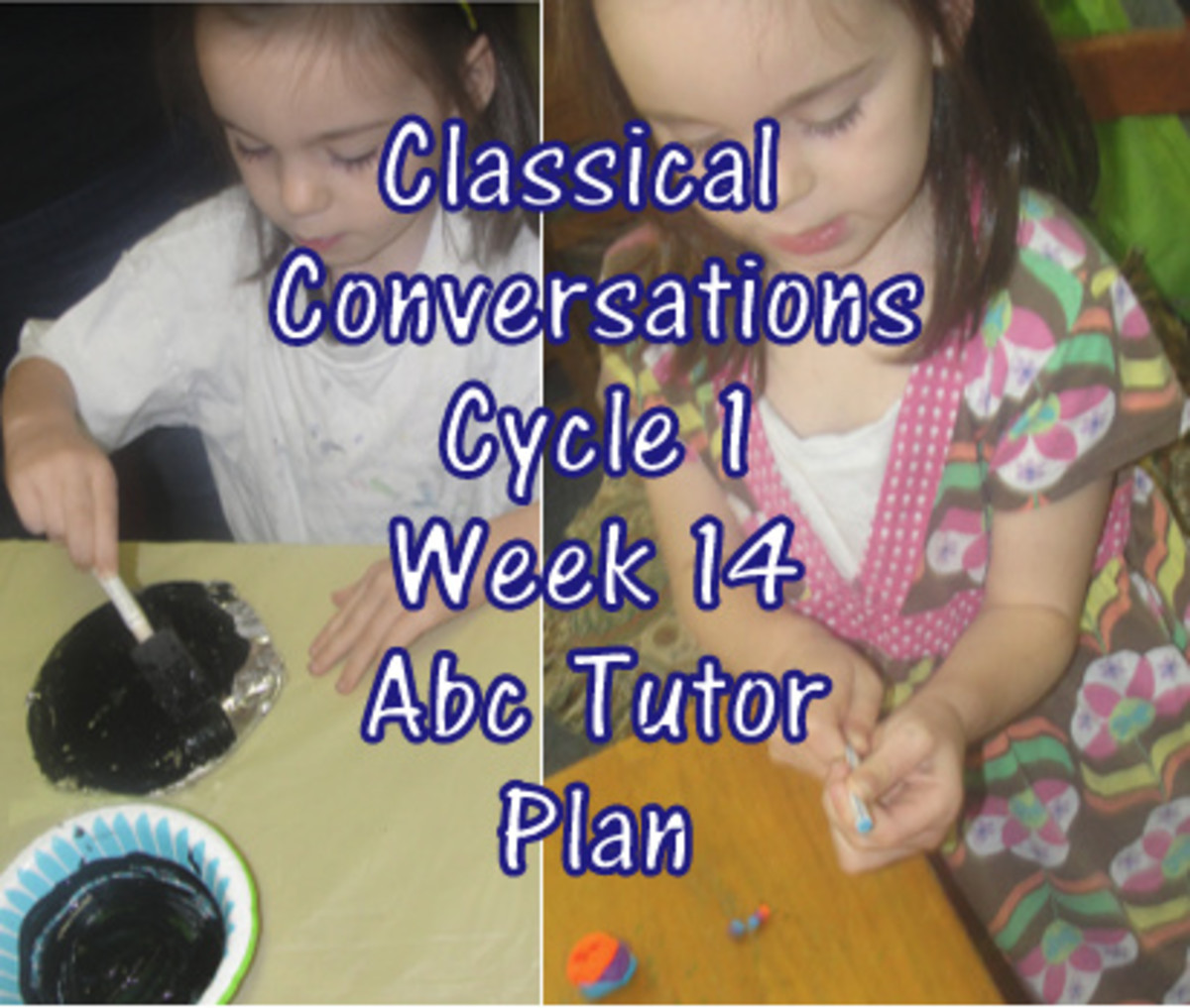 Classical Conversations Cycle 1 Week 14 Abc Tutor Lesson