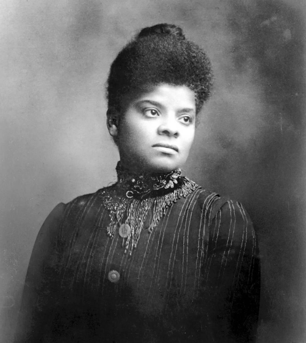 Ida B. Wells-Barnett.