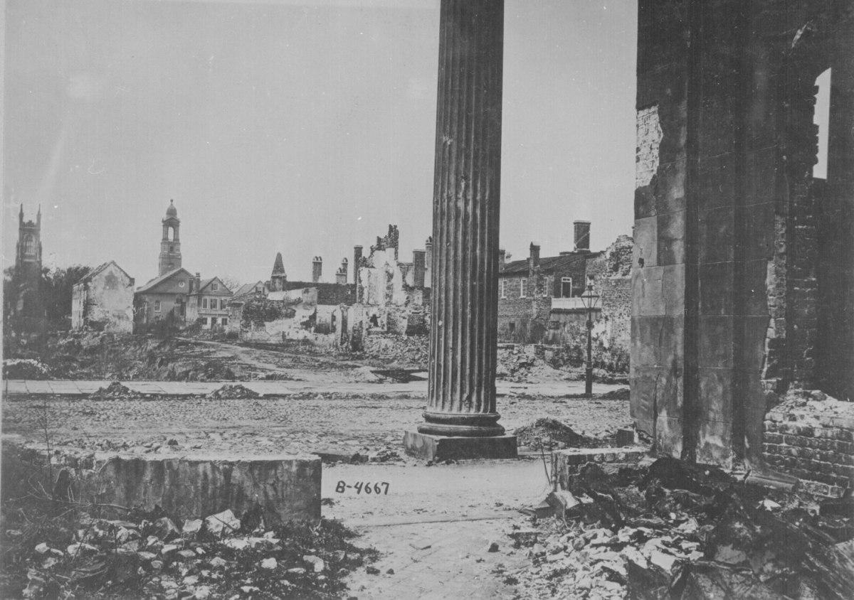 Ruins of Charleston, SC, 1865.