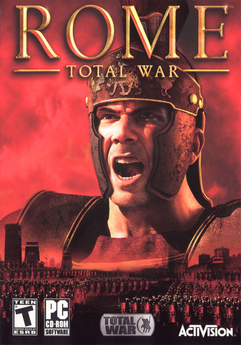 Rome: Total War cover.