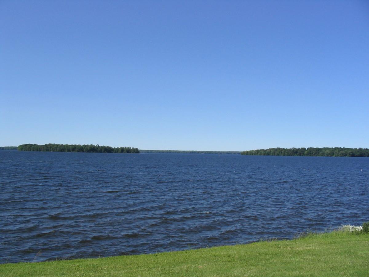 Photo of Oneida Lake from the Yacht Club in Cicero, NY