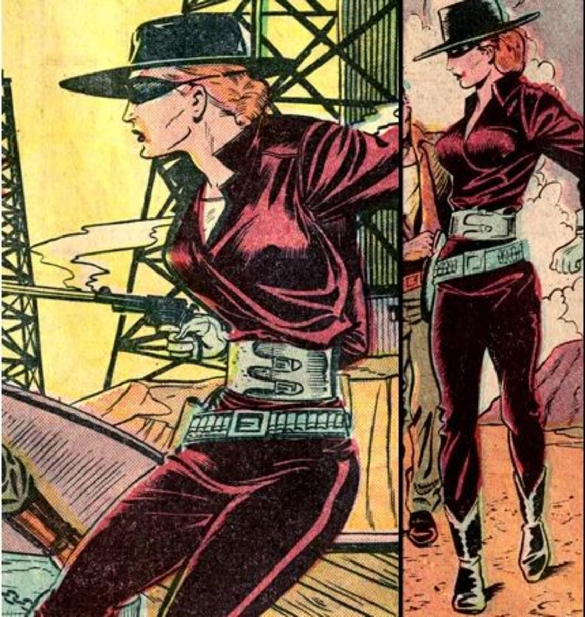 Ten Prominent Western Female Comic Book Figures