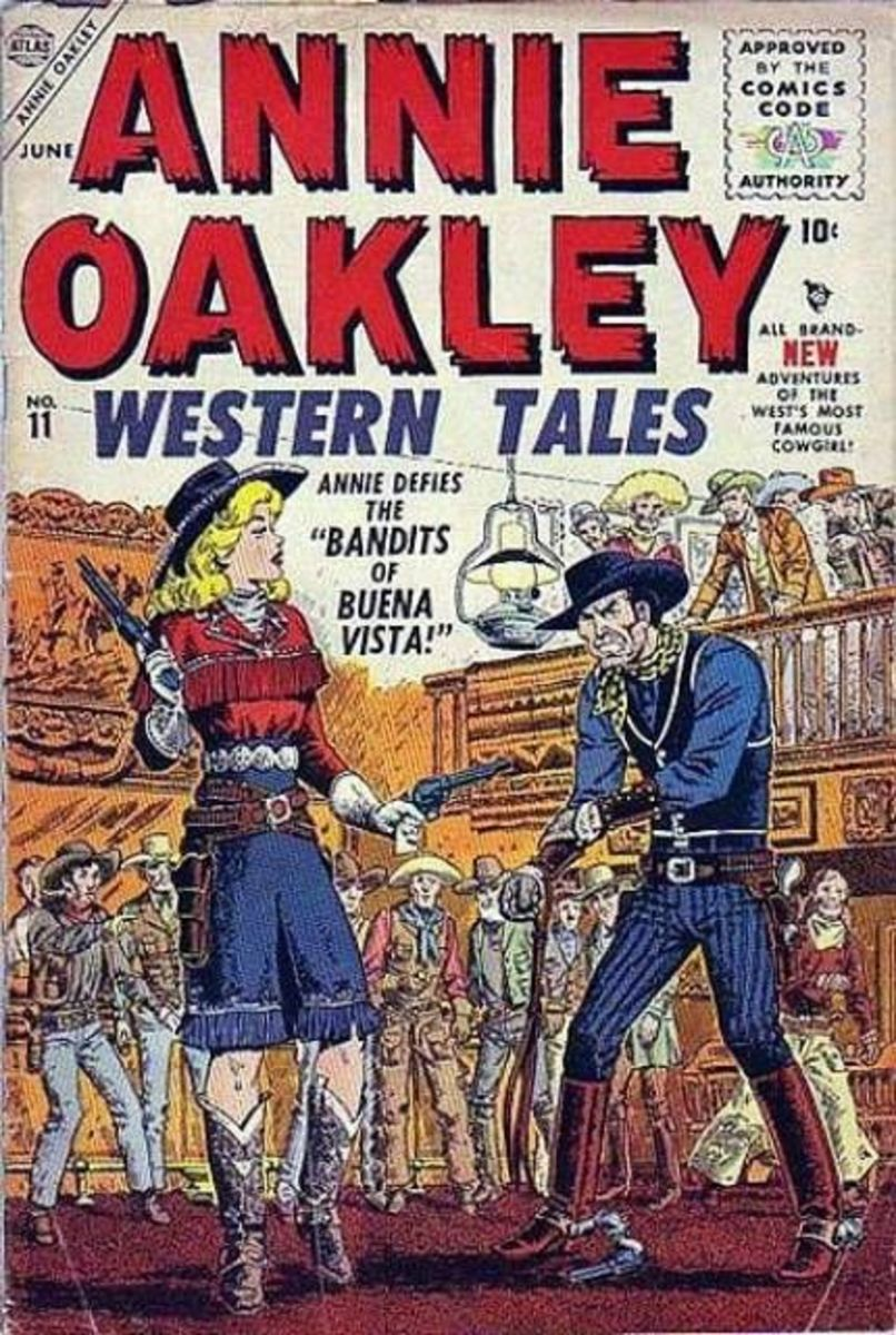 Annie Oakley comic book
