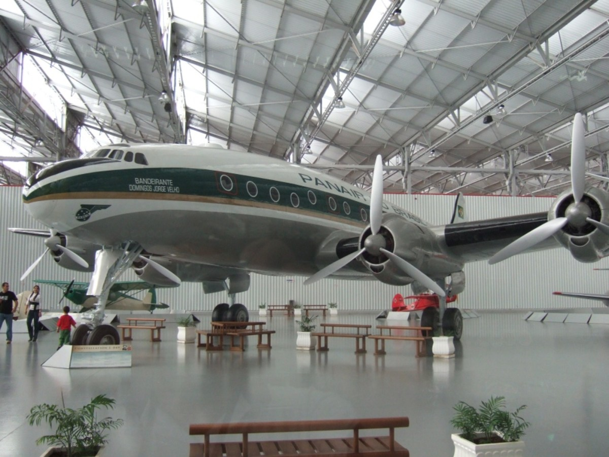 An L-049 at the TAM Museum.