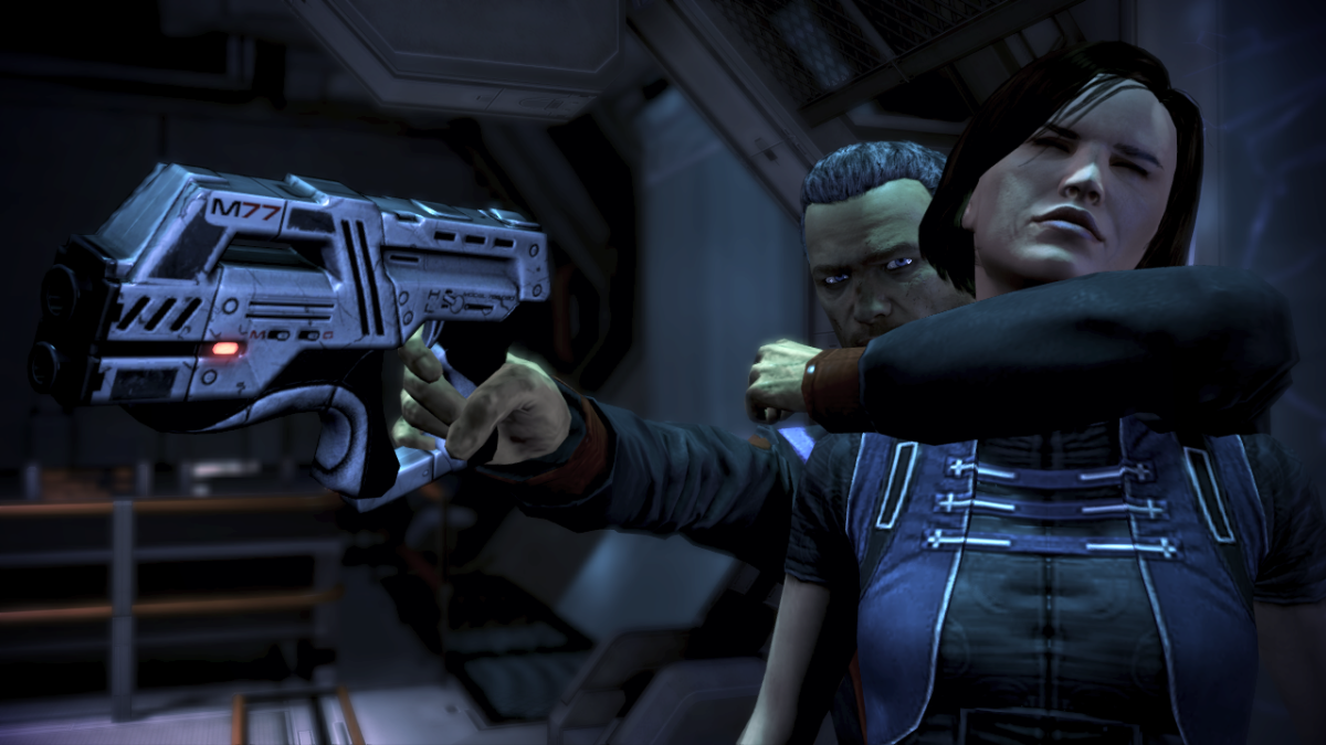 A screenshot from the storyline on Horizon (Sanctuary).