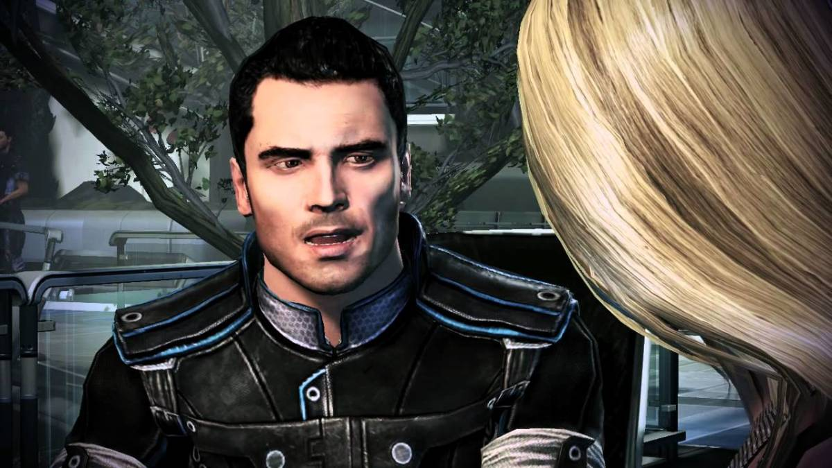Kaidan in Apollo's Cafe with Shepard.