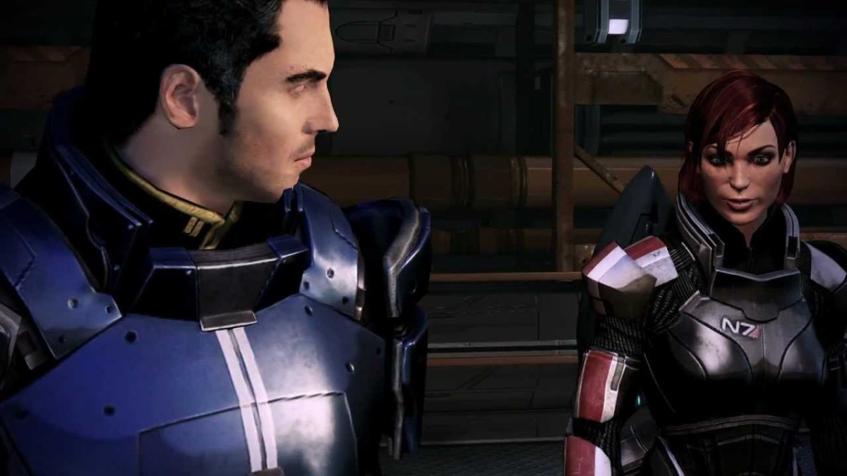 Shepard shutting down Kaidan on Mars.