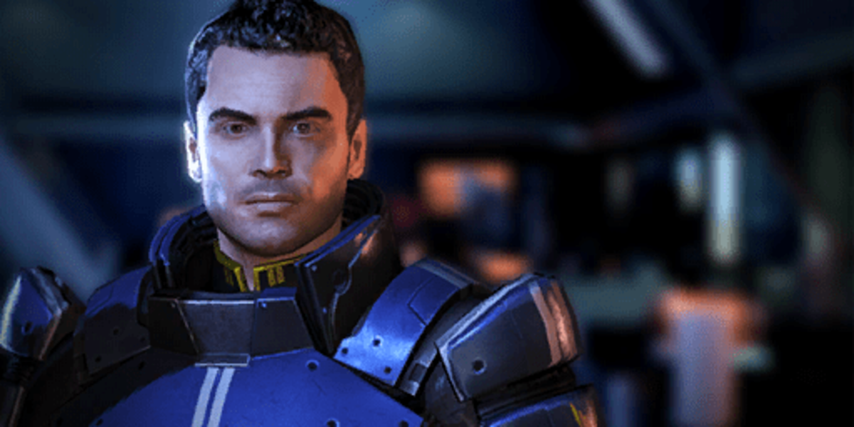 Kaidan as he appeared in Mass Effect 3.