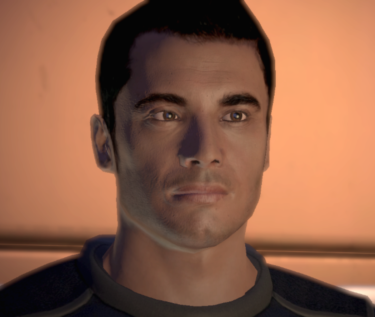 Kaidan as he appears in the first Mass Effect.